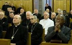 Papa conclui Exercícios Espirituais
