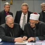 Religiões assinam acordo contra tráfico humano e escravidão