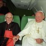 Em entrevista inédita, Bento XVI fala sobre João Paulo II