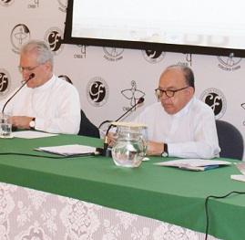 Cardeal Damasceno fala a bispos sobre canonização do beato Anchieta