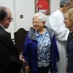 Maria Voce e padre Giancarlo Faletti visitam Santuário Nacional