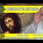 Assista ao vivo a Semana Santa com o Papa