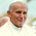 Papa relembra palavras de João Paulo II: não ter medo de ser cristão