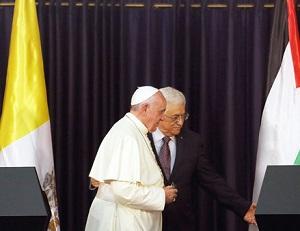 Papa encontra autoridades palestinas e encoraja à paz