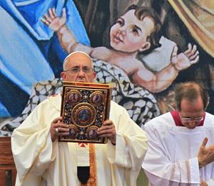 Missa na Praça da Manjedoura: apelo em defesa das crianças