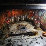 Incêndio na Basílica da Natividade nesta madrugada