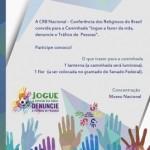 CRB promove caminhada contra tráfico humano durante a Copa