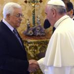 Preparativos para encontro de oração do Papa com Mazen e Peres