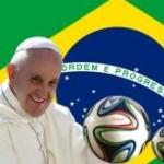 Papa envia mensagem aos brasileiros pela Copa do Mundo