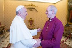 Papa recebe Primaz anglicano: engajamento comum contra tráfico de pessoas
