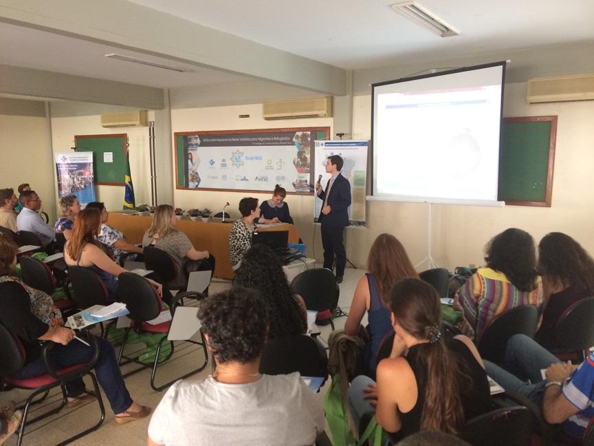 Reunião em Brasília discute acolhimento a migrantes e refugiados