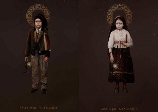 Santuário de Fátima apresenta imagens oficiais de Francisco e Jacinta