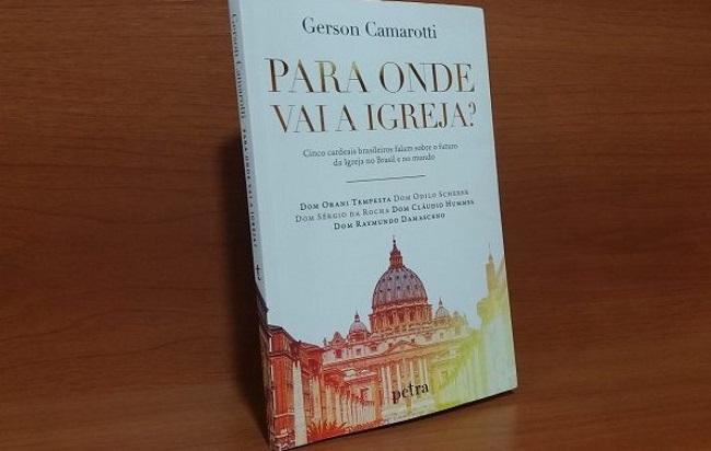 Livro-entrevista de Gerson Camarotti com 5 cardeais brasileiros