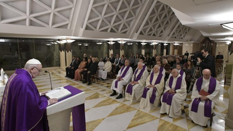 Papa Francisco: a Anunciação revoluciona a história