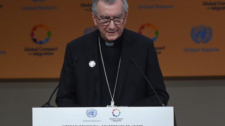 Apoio da Santa Sé ao Pacto Global pela migração