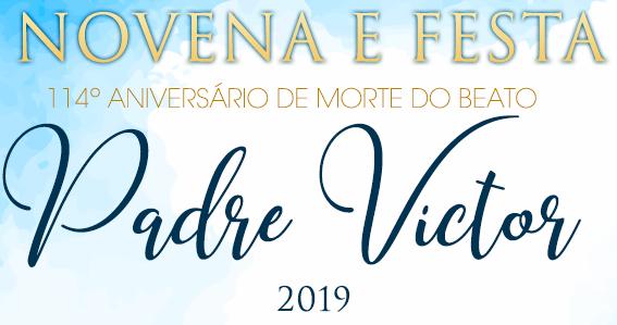 Livreto da Novena dos 114 anos de morte do Beato Pe. Victor