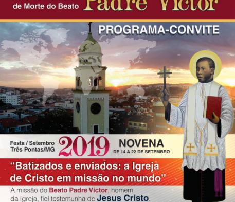 """""""Veja a programação da Festa do Padre Victor 2019"""""""