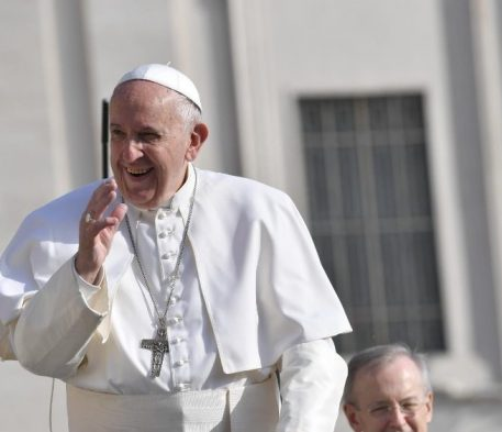 Visita surpresa do Papa à Comunidade Novos Horizontes