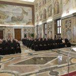 Papa Francisco encontra Capitulares Agostinianos