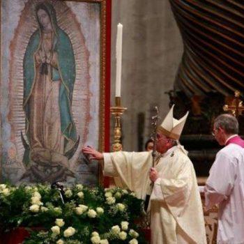 Papa celebrará Missa por Nossa Senhora de Guadalupe no Vaticano em 12 de dezembro