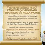Novena mensal pela canonização do Beato Francisco de Paula Victor
