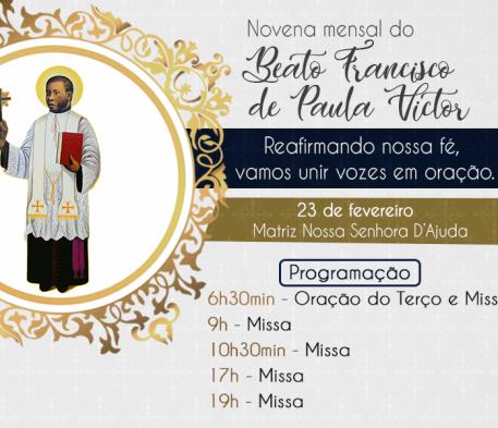 Novena mensal do Beato Padre Victor