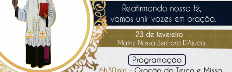 Novena mensal do Beato Padre Victor