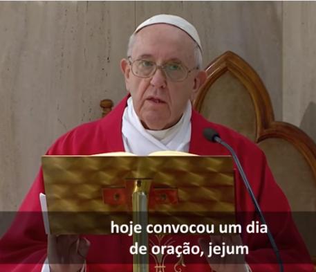 O Papa: rezemos juntos como irmãos pela libertação de todas as pandemias