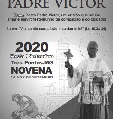 Livreto da Novena dos 115 anos de morte do Beato Pe. Victor