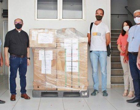 Diocese de Tocantinópolis recebe equipamentos enviados pelo Papa