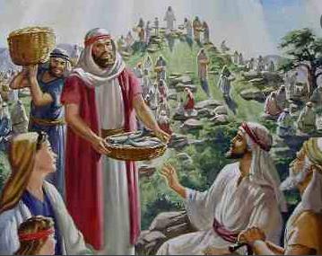 Jesus viu e teve compaixão